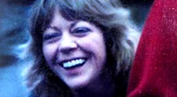Elizabeth McKee in London, 1990. Elizabeth died in December 2002