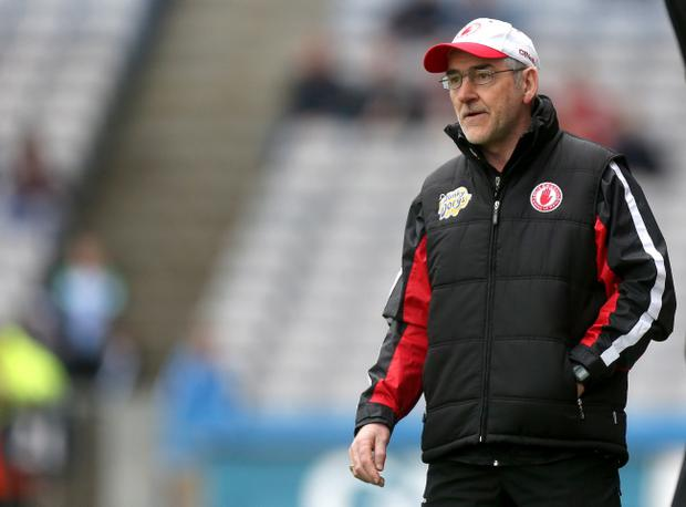 Tyrone manager Mickey Harte has warned his team that they face a tough match against Mayo