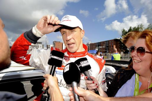 Kris Meeke will drive for Citroen Down Under