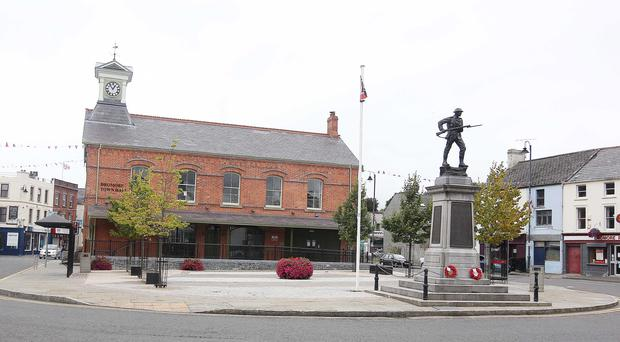 The police investigation has shocked residents of Dromore, Co Down