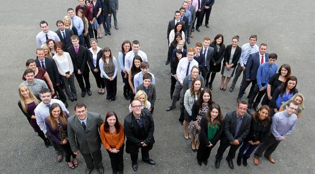 The latest boost to the workforce at Randox Laboratories comes in a year that has already seen 200 additional staff join the company