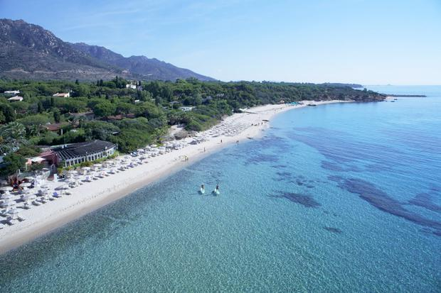Sardinia: The sun-kissed white beach at Forte Village