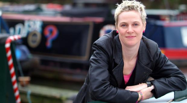 Sail away: Jo Bell on her narrowboat Tinker