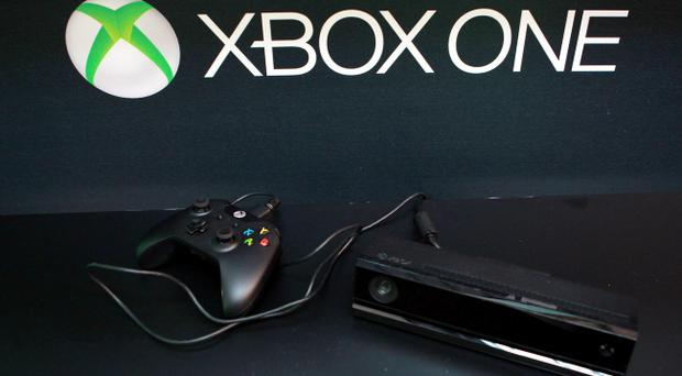 The Xbox One, at the Violin Factory in south London, ahead of the console's release in November.