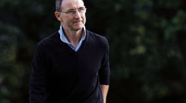 Martin O'Neill (pictured) and Roy Keane are seen as the 'dream team' for the Republic of Ireland