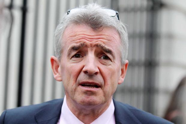 Michael O'Leary ignored harsh criticism and traded jokes on the social network account