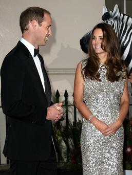 Prince William and Duchess of Cambridge attend the Tusk Conservation Awards at The Royal Society in London