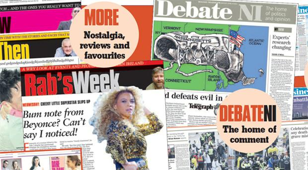 Your new look Belfast Telegraph