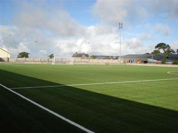 Armagh's new 3G pitch