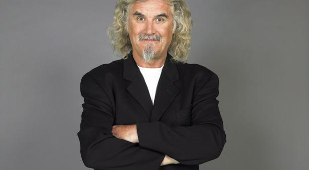 Legendary comedian Billy Connolly forgot his lines while on stage at Belfast's Waterfront Hall