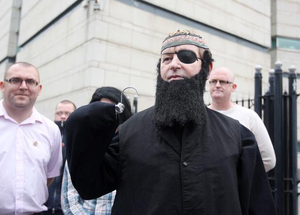 Loyalist campaigner Willie Frazer at Belfast Laganside Courts in 2013