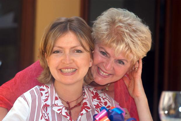 Gloria Hunniford with her daughter Caron Keating
