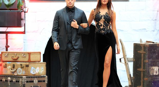 Models Ciara and Leo pictured wearing Cruise only available at Victoria Square.