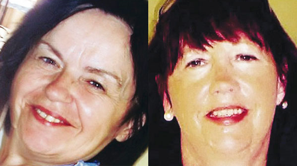 Catherine Dinsmore (left) and her friend Marion Graham were murdered while on holiday in Turkey