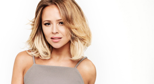 """UPSET: Kimberley Walsh says that her ex-Girls Aloud bandmate Nadine Coyle was once """"like family"""" to her — but
