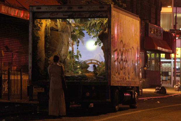Banksy's All City delivery truck. Photo: Banksy