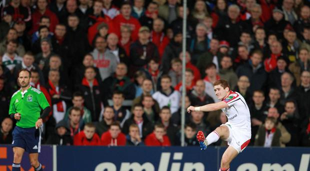 Ulster's Paddy Jackson. Heineken Cup, Ulster v Leicester Tigers, Ravenhill, Belfast