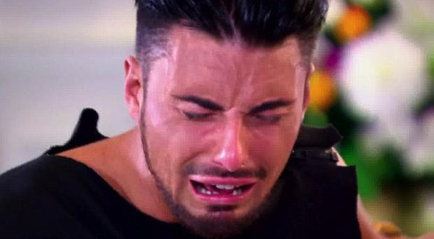 The crying game: Everybody's at it on X Factor, including Rylan Clarke, Tulisa and 2008 winner Alexandra Burke