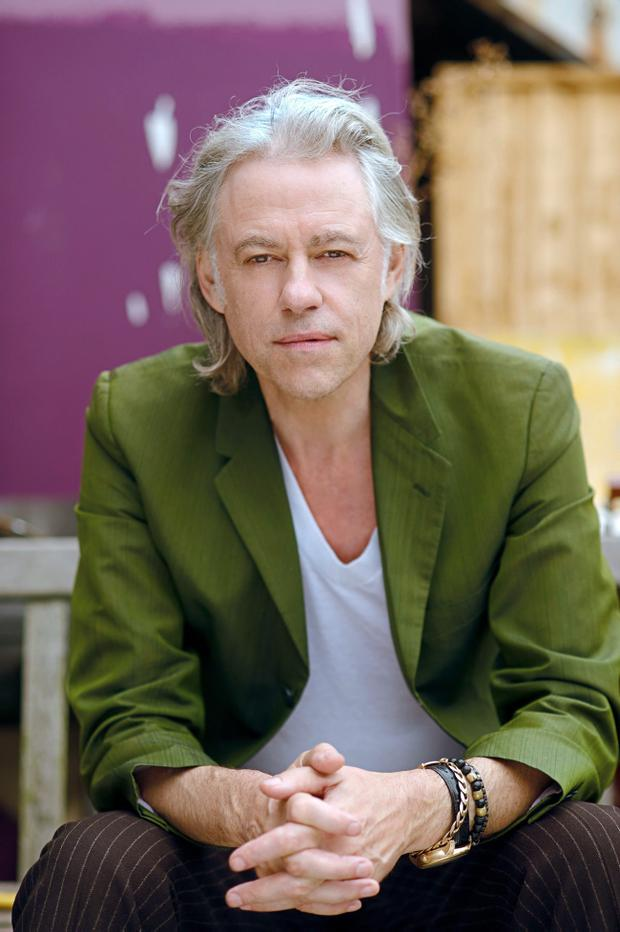 OUTSPOKEN: Bob Geldof has message for Ulster