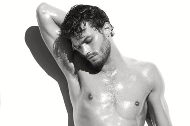 Jamie Dornan in an advert for Calvin Klein Jeans