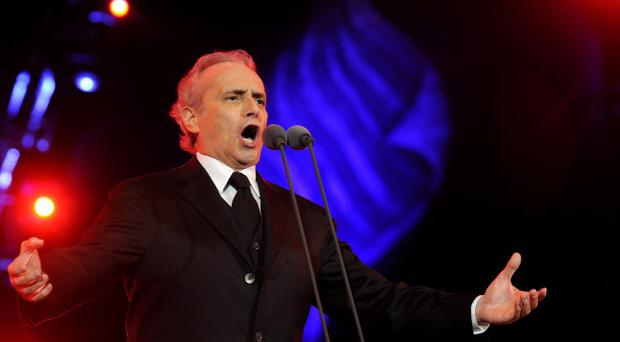 Jose Carreras, the legendary tenor, is performing with Celine Byrne at the opening show of the 2013 Belfast Festival at Queen's.