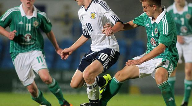 Northern Ireland Vs Scotland at Ballymena Showgrounds, October 17