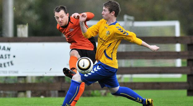 Action from Tandragee Rovers v Craigavon AFC, October 19