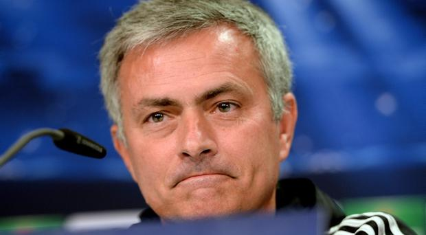 Jose Mourinho's Chelsea face Arsenal in the Capital One Cup