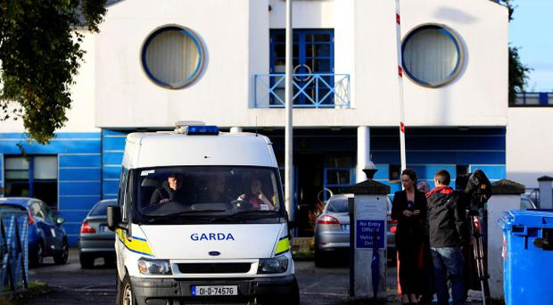 A general view of Tallaght Garda station, Belgard Walk, Dublin where the blonde-haired, blue-eyed seven year-old girl was taken before she was put into care after being taken from a Roma family in Ireland
