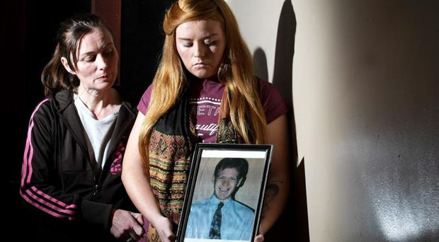 Lorraine with daughter Amanda, who was five weeks old when Martin was shot