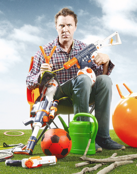 Father Figure, with Jason Byrne as Tom