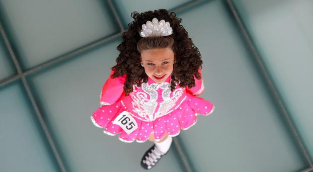 The All-Ireland Dancing Championships took place at the Waterfront Hall, Belfast Pic David Fitzgerald