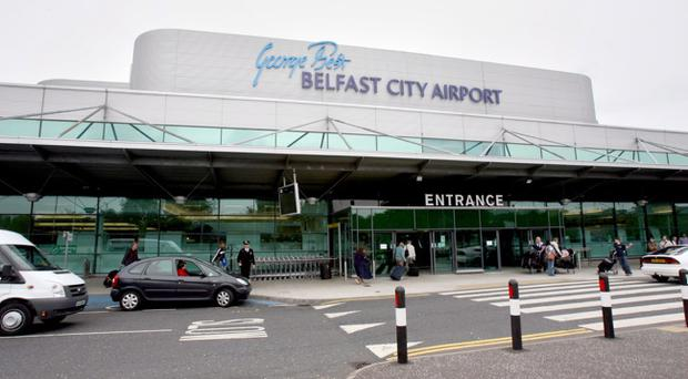George Best Belfast City Airport is introducing a £2 surcharge for taxi cabs