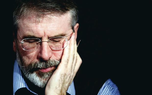 Sinn Fein president Gerry Adams has again denied allegations he was responsible for ordering the killing of Jean McConville