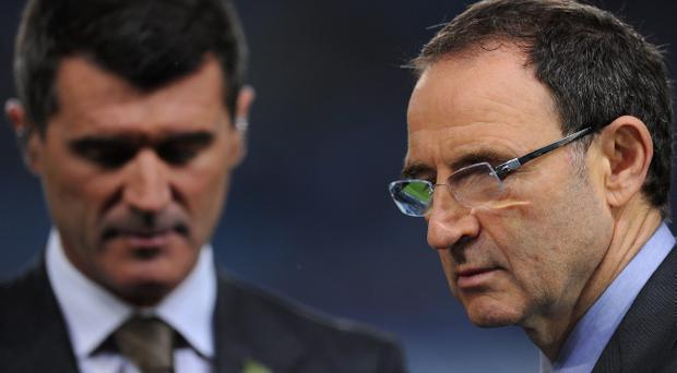 Roy Keane and Martin O'Neill: Republic of Ireland's new management team