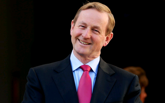 Taoiseach Enda Kenny said the idea of an all-Ireland football team raising money for charity could be attractive to everyone