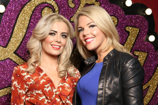 Orlaith McCallister and Michelle Wylie