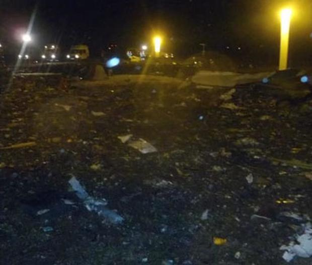 Some 50 people have been killed after a Boeing 737 plane crashed in western Russia