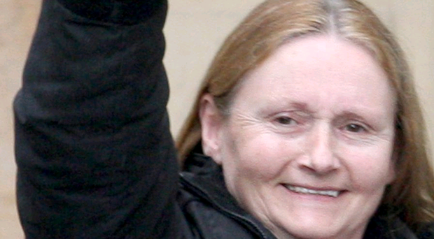 The prosecution alleges Marian McGlinchey (nee Price) was caught on CCTV purchasing the pay-as-you-go mobile from the Tesco store in Newtownabbey