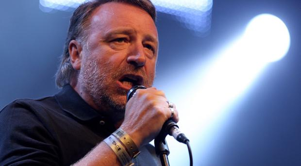Peter Hook on stage
