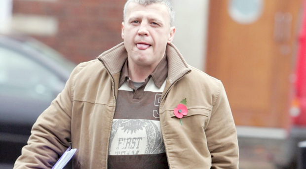 Loyalist William 'Mo' Courtney has been given a four-month suspended jail sentence. Pictured in 2005