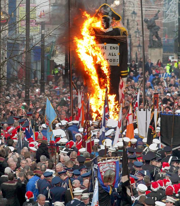 The Apprentice Boy's of Derry marked the Shutting of the City's Gates in 1688 which was the beginning of the longest siege in British military history.