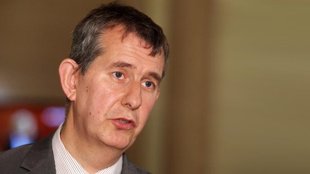 Health Minister Edwin Poots