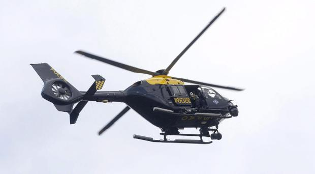 The PSNI has said it has not grounded a model of helicopter which has been pulled from service across the UK after the Glasgow pub crash. Pic Eurocopter EC-135