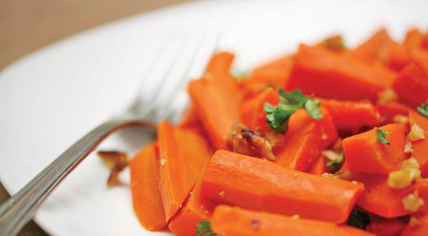 Paula McIntyre's honey and star anise carrots