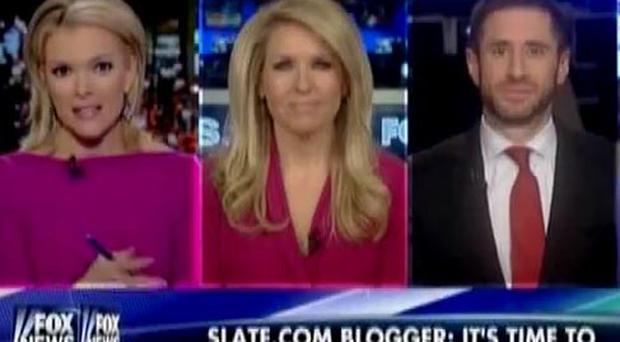 Fox News presenter Megyn Kelly (left) claimed it was a 'fact' both Jesus and Santa were white
