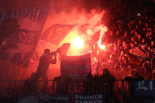 Hertha Berlin supporters can enjoy watching their team for as little as €15 a ticket, a fraction of the prices that Premier League teams in England charge