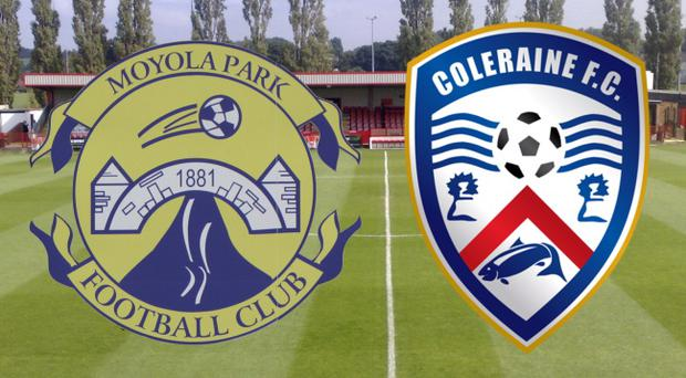 Coleraine Reserves take on Moyola Park at Fortwilliam Park on Boxing Day