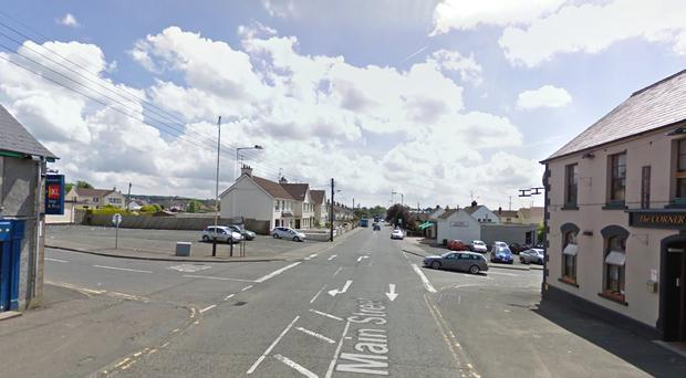 The Culcrum Road, Loughill Road, Drumadoon Road and Main Street have been closed to traffic