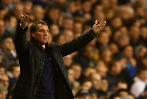 Brendan Rodgers of Liverpool